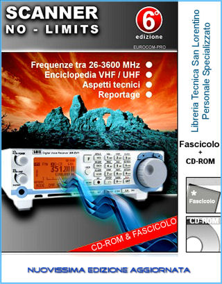 Frequenze in Scanner no-limits VHF UHF