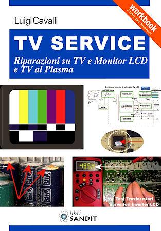LIBRO TV SERVICE CON RIPARAZIONI TV LCD LED E PLASMA