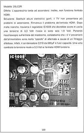 Riparazione tv monitor lcd plasma archivio oltre 390 - Scaldabagno elettrico non si accende ...