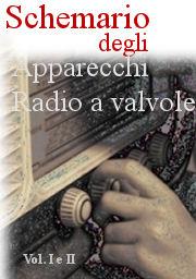 schema radio a valvole e d'epoca